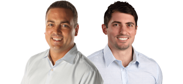 Dr. Chad Burmeister and Dr. Cale Atteberry
